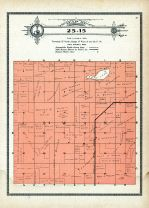 Township 25 Range 15, Swan, Holt County 1915